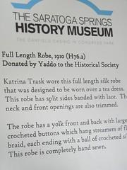 Katrina's silk robe, Yaddo