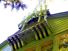 Cottage architectural details, Yaddo