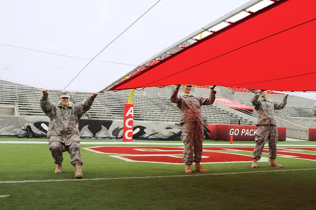 NCSU's Military Appreciation Day
