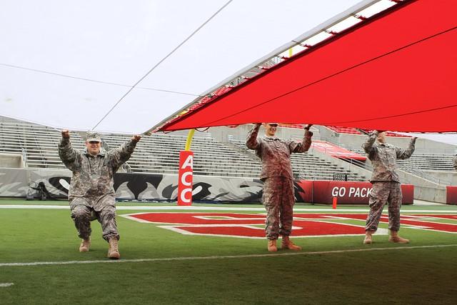 NCSU's Military Appreciation Day