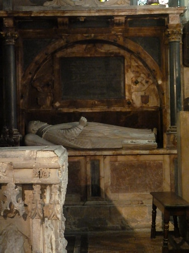 Shakespeare Memorial, Holy Trinity Church, Startford-upon-Avon