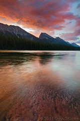 Honeymoon Lake, Jasper National Park, Alberta, Canada