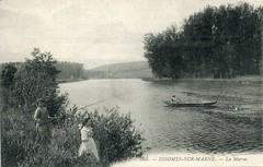 368. Essômes-sur-Marne. La Marne (c.1910)