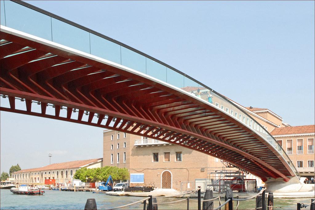 La nouvelle passerelle sur le Grand Canal (Venise)