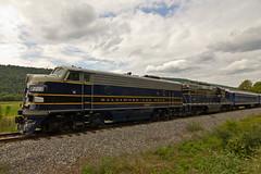 Potomac Eagle - Arrival Back in Romney, WV