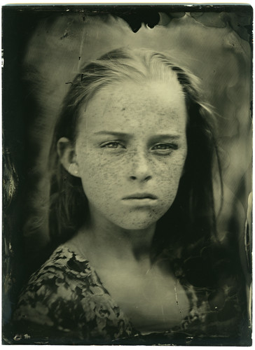 Katie (ambrotype) by guyjbrown