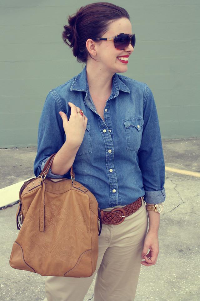Every girl needs a denim shirt u2013 Keira Lennox