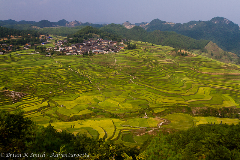 Gaoyao Village Rice Terraces, Guizhou by adventurocity