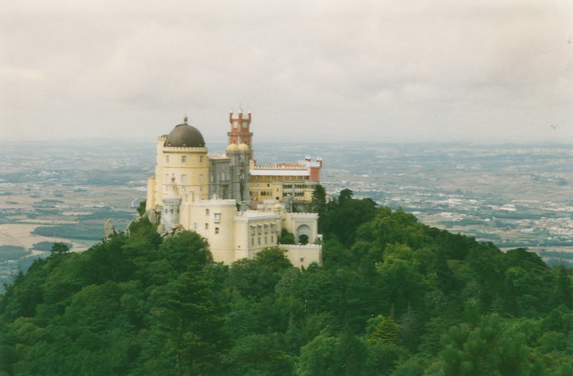 Gorgeous views from Sintra by flickr user azwegers