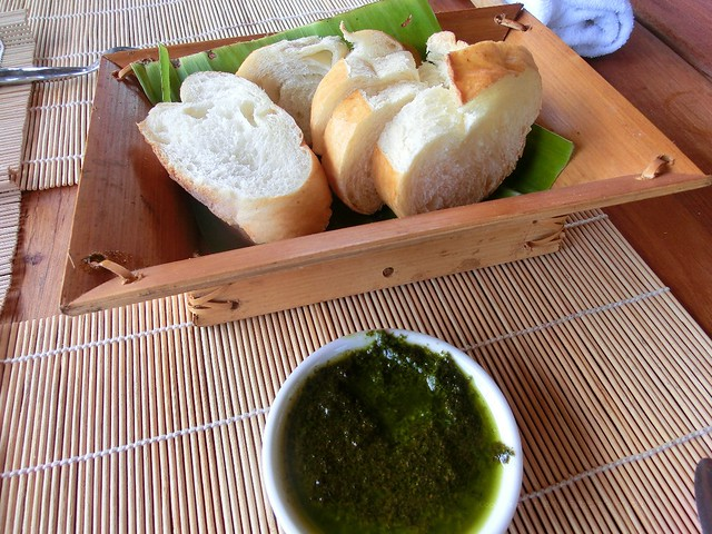 Lunch at Dining by the pool - Six Senses Ninh Van Bay