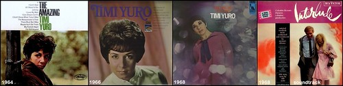 97 Timi Yuro 4 album covers - LP's