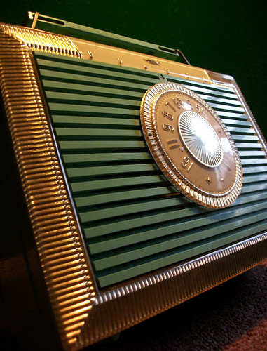 "The ""Companion"" By Bulova Model 206 Poratble AM Radio"