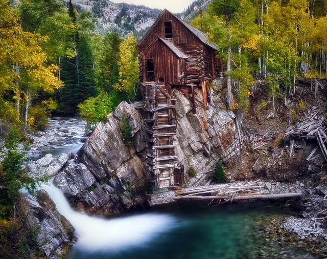 Crystal Mill At Fall Flickr Photo Sharing