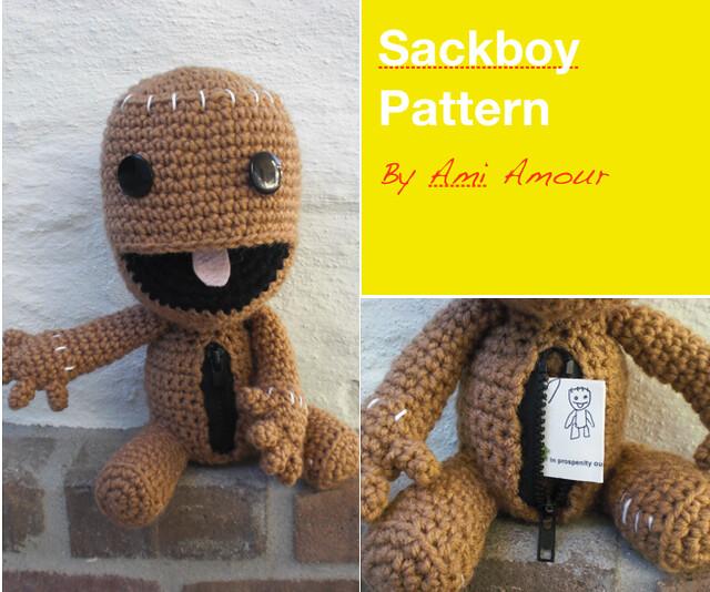 Amigurumi Open Mouth : Sackboy Crochet Pattern - Open Mouth and Zipper Flickr ...