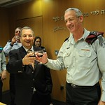 IDF Chief of Staff and Minister of Defense Toast the Jewish New Year
