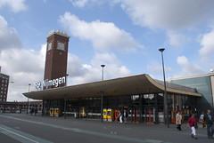 Het NS station van Nijmegen