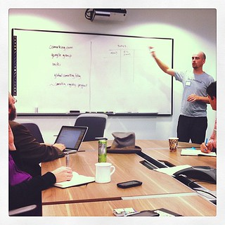 Jacob describing the organization structure that will create the #coworking  everything platform.