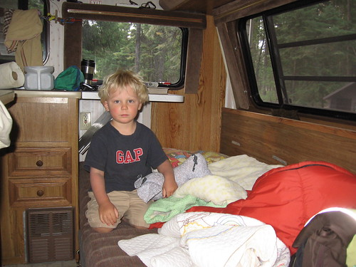Morning in the camper