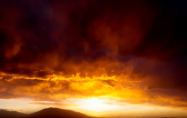 Sunset, Bolivia