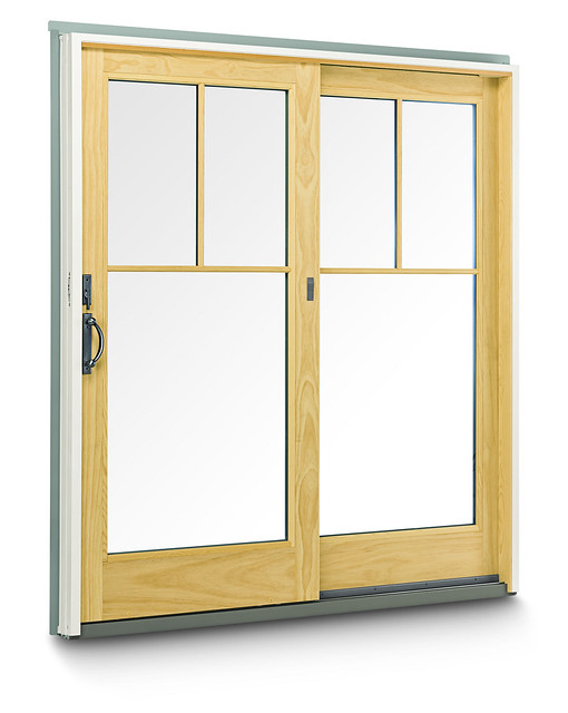 400 series frenchwood gliding patio door flickr photo for Andersen french sliding doors