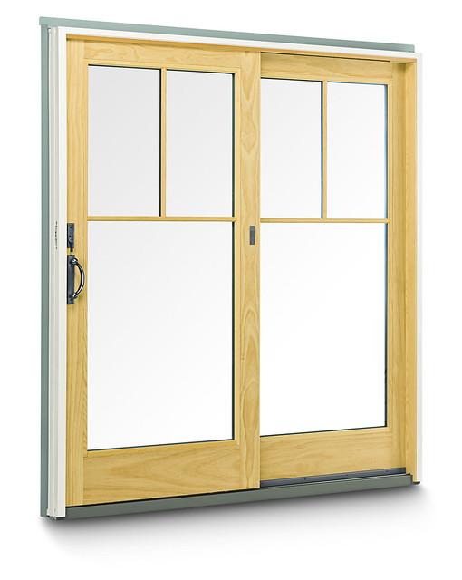Andersen Patio Door Lock Parts: 400 Series Frenchwood Gliding Patio Door