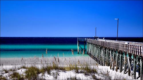 beach gulfofmexico florida panamacitybeach standrewsstatepark fishingpiers floridastateparks floridaoutdoors nikond3100 nikkor1855afsvrlens