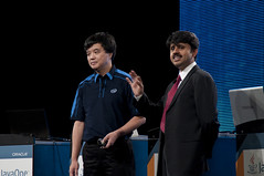 "Kingsum Chow and Saeed Mirza, Intel Keynote ""Optimizing Java — Intel's Long Term Contributions, Keep Getting Better"", JavaOne 2011 San Francisco"
