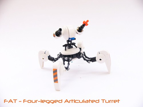 FAT- Four-legged Articulated Turret