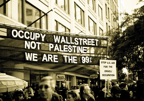 Occupy Wall Street demonstration in Seattle