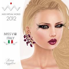 Anna Sapphire MV♛ ITALY 2012