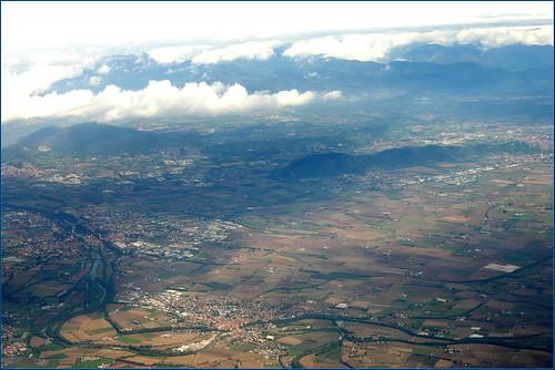 Landscape. The Plain of Lombardy.