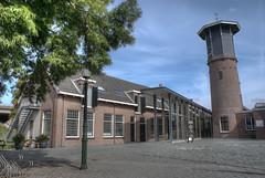 Salpeter- en Katoenmagazijn en watertoren