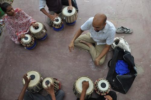 Tabla Lessons, Manav Sadhna, Ahmedabad, Gujarat