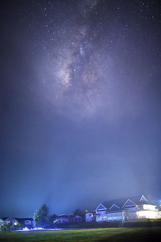... misty Milky way ...