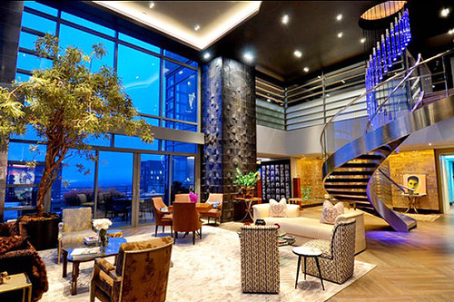 Manhattan new york luxury penthouse a home on top of the for Luxury penthouses in manhattan