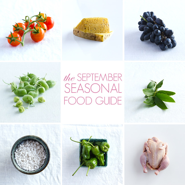 SEPTEMBER SEASONAL FOOD GUIDE