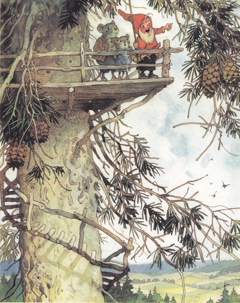 1000 images about illustrations etc on pinterest little for Baum garten