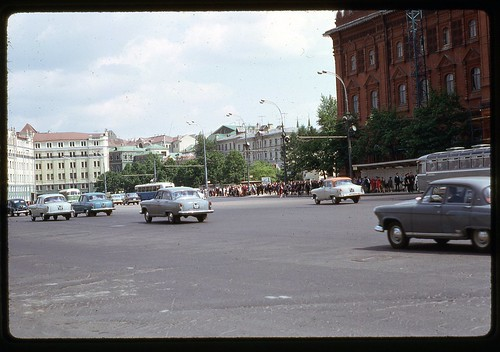 Towards Revolution Square, Moscow, 1969