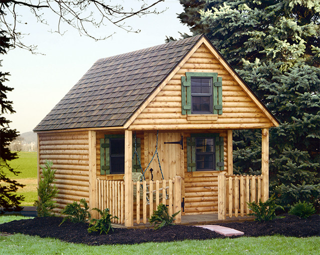 Playhouse kits flickr photo sharing for Kids cabin playhouse