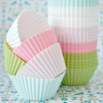Silicone cupcake cases