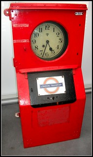 London transport Running card clock 18/09/11.