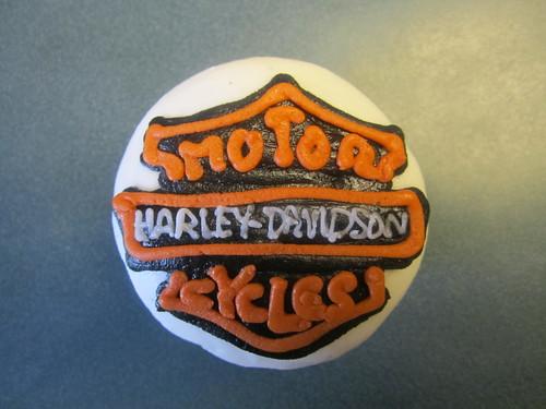 Harley Davidson Cupcake