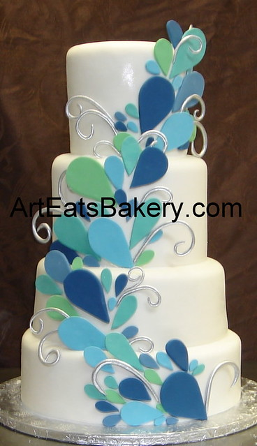 We specialize in gourmet unique custom artist designed modern cakes that