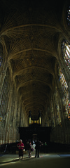 Stitched Kings College Chapel