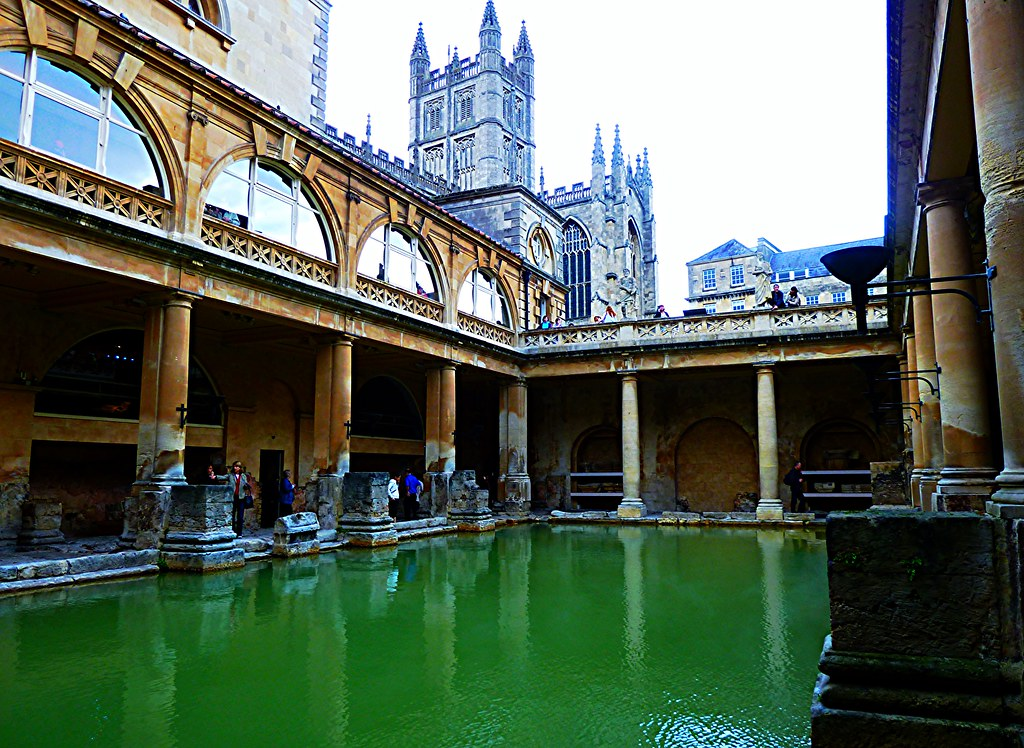 Roman Baths at Bath, England