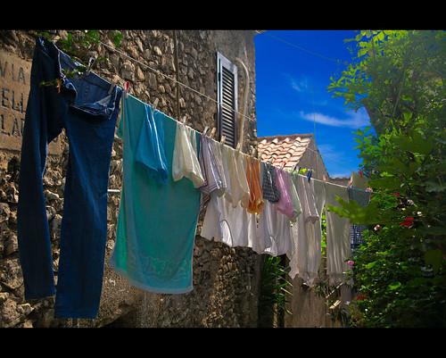 Sunday laundry - Il bucato della domenica