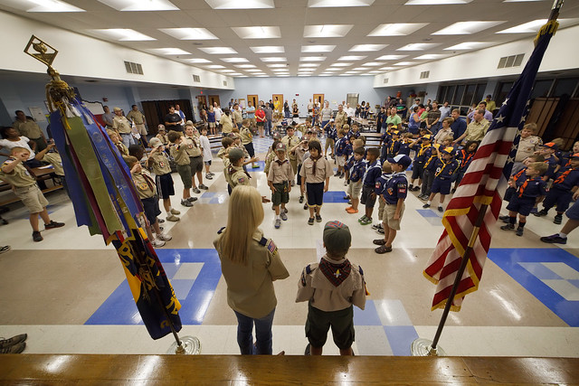 Cub Scout Pack 562:  Round Rock, TX – Pack Meeting Sept. 2011