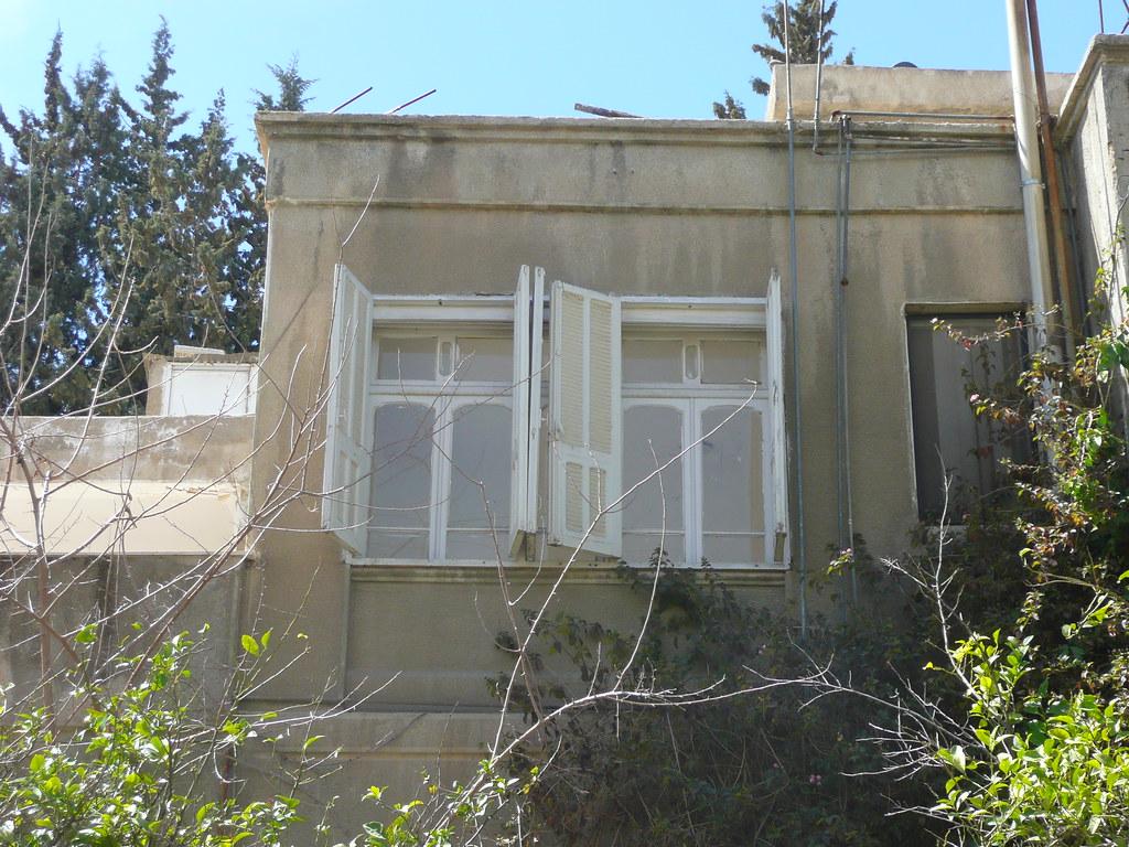 Amman, Jordan King Talal House windows