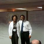 Deborah Wright, CEO of Carver FSB, and Saurabh Narain, CEO of NCIF