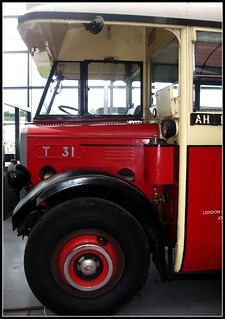 General (LGOC)  AEC Regal T31 . 1929. London Bus Museum 18/09/11.